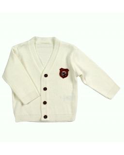 Klasyczny sweterek zapinany na guziki dla dziewczynki