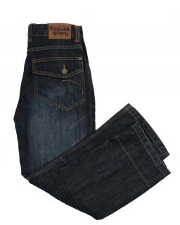 Klasyczne spodnie jeansowe z kieszeniami dla chłopca