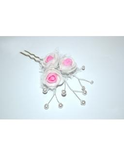 Ozdobna szpilka z różami