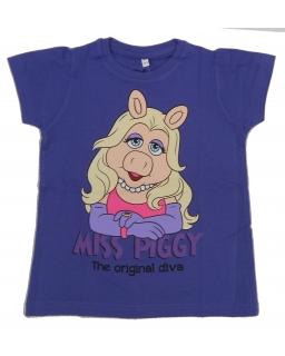 T-shirt Miss Piggy : Rozmiar: - 116/122