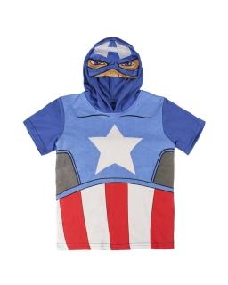 T-shirt z kapturem Avengers
