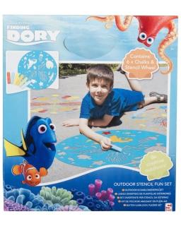 Szablon do rysowania Gdzie jest Dory?