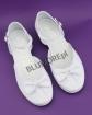 Śnieżno białe buty na komunię dla dziewczynki 31 - 36