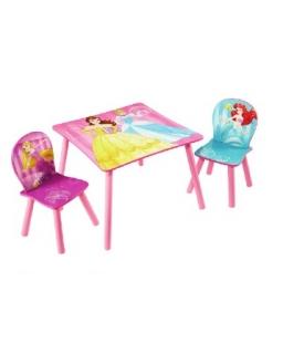 Stolik z krzesłami Księżniczki