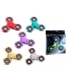 Metal Hand Fidget Spinner - zabawka zręcznościowa - losowy wzór