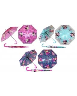 Parasol Myszka Minnie : Kolor - Granatowy