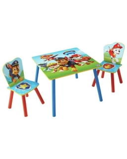 Stolik z krzesłami Psi Patrol