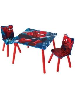 Stolik z krzesłami Spiderman