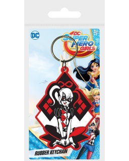 Brelok do kluczy DC Super Hero Girls (Harley Quinn)