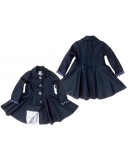 Elegancki płaszcz wiosenny Gatito : Rozmiar: - 128