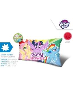 Jumbo poduszka welurowa My Little Pony