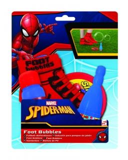 Bańki mydlane - skarpetka Spiderman