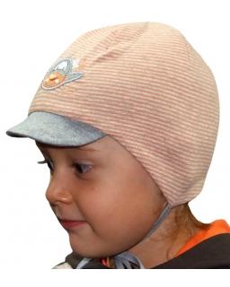 Przejściowa czapka dla chłopca 41 - 45