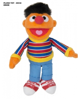 Maskotka Ulica Sezamkowa 25 cm - Ernie