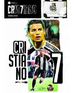 Naklejka ścienna zdejmowalna Cristiano Ronaldo