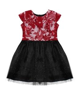 Błyszcząca sukienka z cekinami