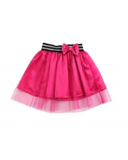 Spódniczka dla dziewczynki z tiulem i gumką w pasie