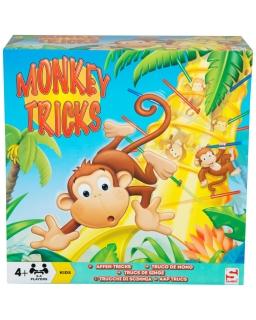 Gra edukacyjna spadające małpki