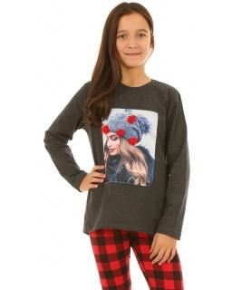 Dziewczęca bluza w sportowym stylu główna zdjęcie