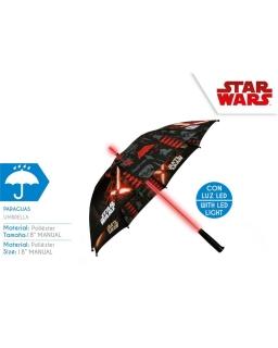 Parasol manualny świecący LED Star Wars
