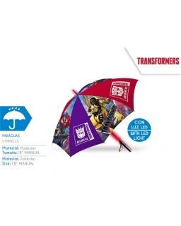 Parasol automatyczny świecący LED Transformers