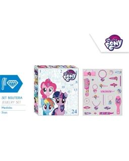 Kalendarz adwentowy My Little Pony - akcesoria do włosów