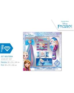 Akcesoria do włosów Frozen - Kraina Lodu - 18 szt