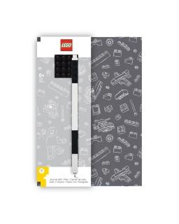 Notatnik i cienkopis żelowy Lego
