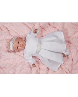 Sukienka do chrztu dla dziewczynki biała