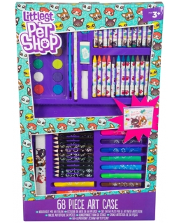 Zestaw artystyczny Littlest Pet Shop 68 elementów