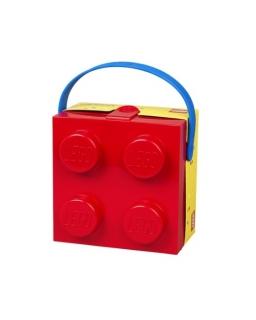Pojemnik śniadaniowy z uchwytem Lego
