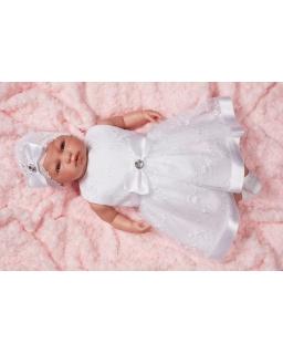 Sukienka dla dziewczynki do chrztu