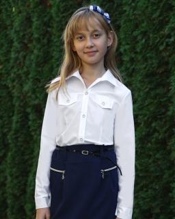 Koszula szkolna dla dziewczynki sklep