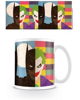 Kubek ceramiczny Batman (Batman/Joker)