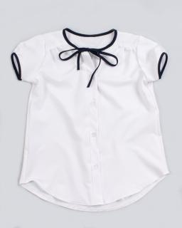 Biała galowa bluzeczka szkolna
