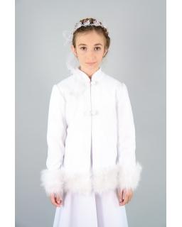 Bolerko komunijne dla dziewczynki z polaru