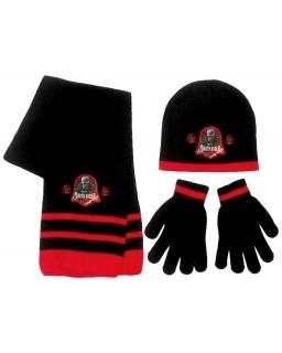 Komplet: czapka jesienna / zimowa, szalik i rękawiczki Star Wars