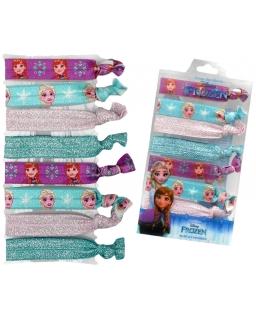 Gumki do włosów Frozen - Kraina Lodu - losowy wzór
