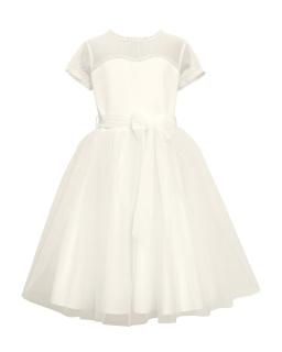 695609a571 Sukienka do Pierwszej Komunii Świętej dla dziewczynki