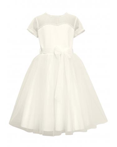 8b4192d1ed Sukienka do Pierwszej Komunii Świętej dla dziewczynki