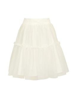Trapezowa tiulowa spódniczka dla dziewczynki przód