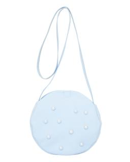 Komunijna torebka na kształt koła 6D/SMT/19 niebieska