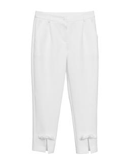 Eleganckie materiałowe spodnie dla dziewczynki