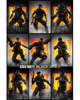 Plakat Call Of Duty: Black Ops 4 (CHARACTERS)