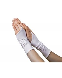 Rękawiczki komunijne bez palców RK07