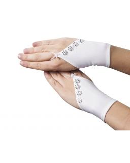 Rękawiczki komunijne dla dziewczynki RK51
