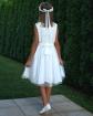 Sukienka dla dziewczynki z koronką i tiulami sklep on-line -2
