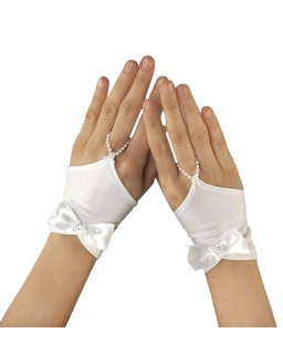 Rękawiczki komunijne RK64