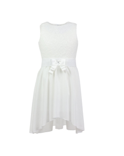 Sukienka dla dziewczynki z krótszym przodem