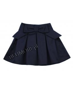 Granatowa spódniczka dla dziewczynki 128 - 158 Luna